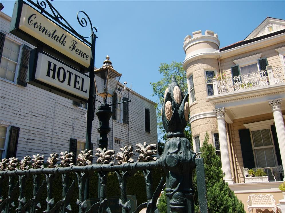 cornstalk hotel new orleans louisiana real haunted place. Black Bedroom Furniture Sets. Home Design Ideas